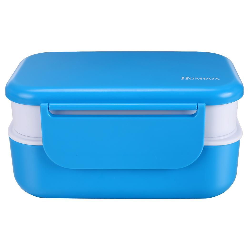 picnic food container storage box microwave lunch bento box 1200ml ebay. Black Bedroom Furniture Sets. Home Design Ideas