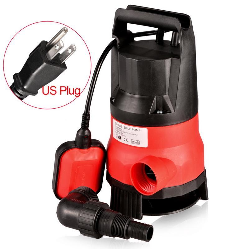 Us Seller Pro 400w 1 2hp Submersible Sump Pump Clear Water