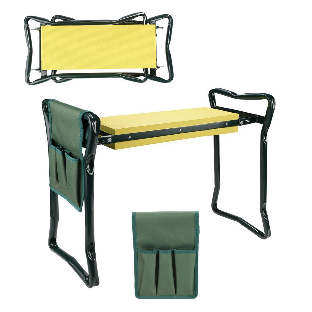 Folding Chair Gardening Kneeler Kneeling Knee Pad Seat